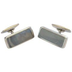 Pair of Georg Jensen Cufflinks design no. 117 large size in original box