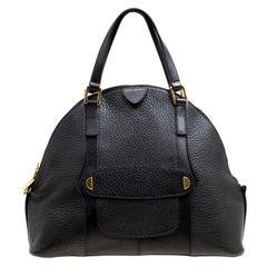 Marc Jacobs Black Leather Bowery Sutton Satchel