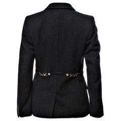 New Gucci F/W 2006 Runway Ad Blazer Coat Jacket Sz 44 U.S. 4/6