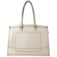 Louis Vuitton Ivory Epi Madeleine Gm 867517 White Leather Shoulder Bag