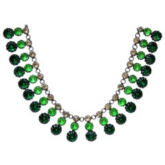 Green Strass Necklace
