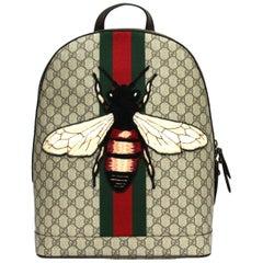 Gucci GG Supreme Animalier Backpack