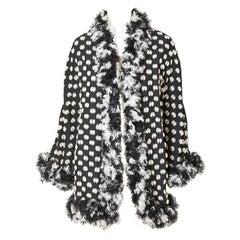 Geoffrey Beene Chenille Coat