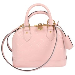Louis Vuitton Alma BB Shoulder Bag - pink