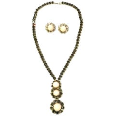 Coppola e Toppo 1970s Necklace and Earrings for Valentino