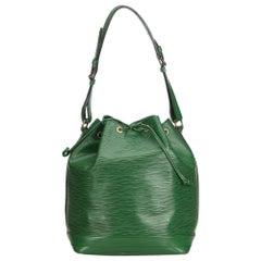 Louis Vuitton Green Epi Noe