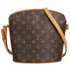 Louis Vuitton Brown Monogram Drouot