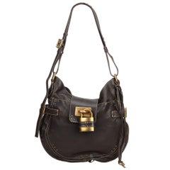Chloe Brown Leather Paddington Shoulder Bag