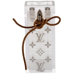 Louis Vuitton Clear (Ultra Rare) Monogram Dominoes Case with Domino Set 234035