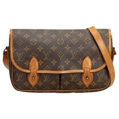 Louis Vuitton Brown Monogram Sac Gibeciere MM