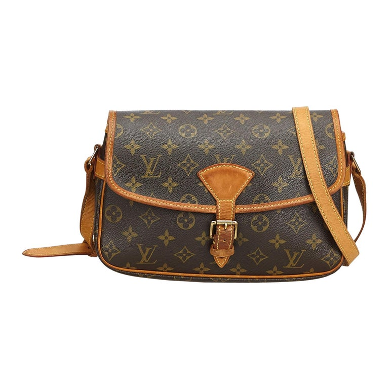 Louis Vuitton Brown Monogram Sologne For Sale