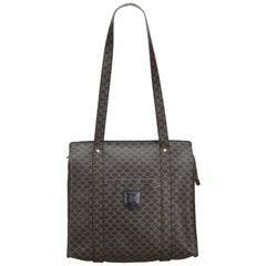 Celine Black Macadam Tote Bag