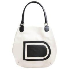 Delvaux White Louise Shoulder Bag