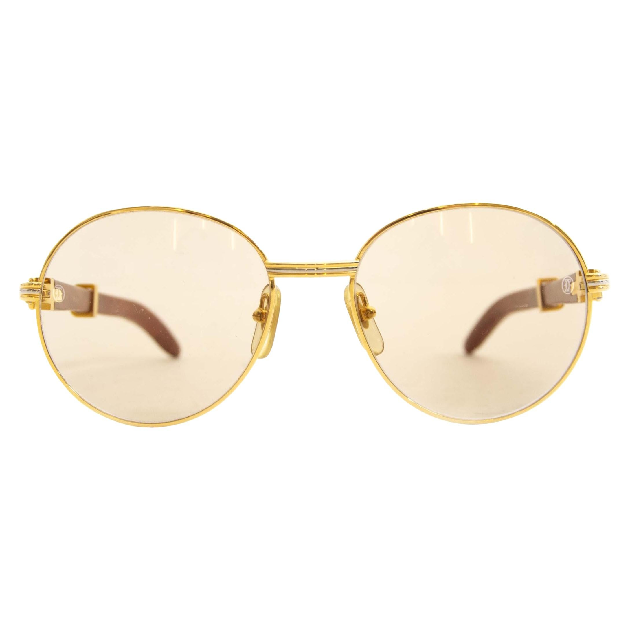 ed6b7347808 Vintage Cartier Sunglasses - 159 For Sale at 1stdibs