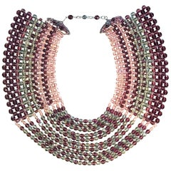 Coppola e Toppo Large Bead 1960/70s Collar
