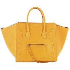Celine Phantom Handbag Textured Leather Medium