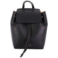 Mansur Gavriel Drawstring Backpack Leather Mini