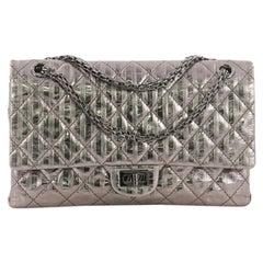 Chanel Rayures Reissue 2.55 Handbag Quilted Calfskin 225