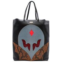 Stella McCartney Black Skylight Superhero Tote