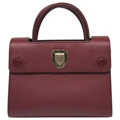 Christian Dior Burgundy Mini 'Diorever' Bag