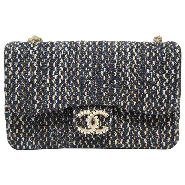1117ab58667c42 Chanel 2015 Tweed Westminster Flap Bag For Sale at 1stdibs