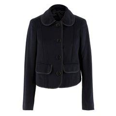 9683ef97031c8 Burberry Men s Vintage Sport Coat Blazer with Suede Elbow Patches ...