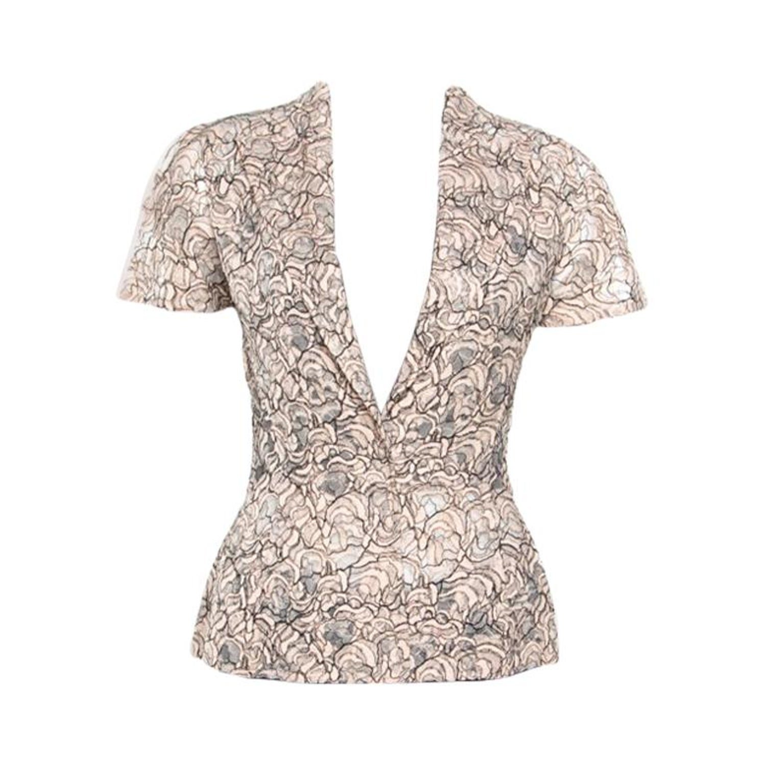 e5928d2c67040 Christian Dior Rose Pink Floral Lace Peplum Blazer M For Sale at 1stdibs