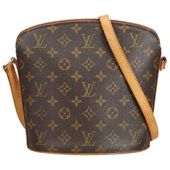 Louis Vuitton Brown Monogram Canvas Canvas Monogram Drouot France