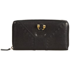YSL Black Others Leather Muse Wallet France