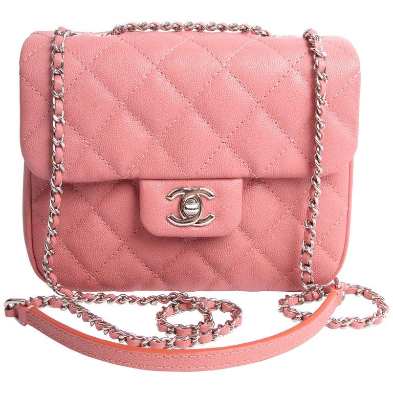 5cdb2e9fe82b Chanel Urban Companion Bag - dusty pink at 1stdibs
