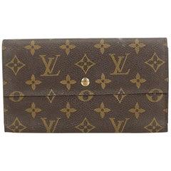 Louis Vuitton Brown Monogram Porte Tresor International France