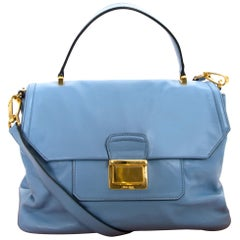 Miu Miu Convertible Flap Top Vitello Soft Medium Bag