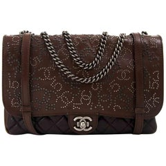 Chanel Paris Dallas Studded Lambskin Western Bag