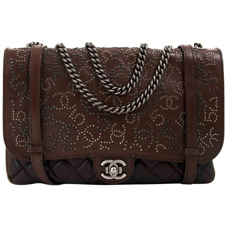 Chanel Paris Dallas Studded Lambskin Western Bag  For Sale