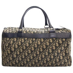 Dior Monogram Boston Travel Bag