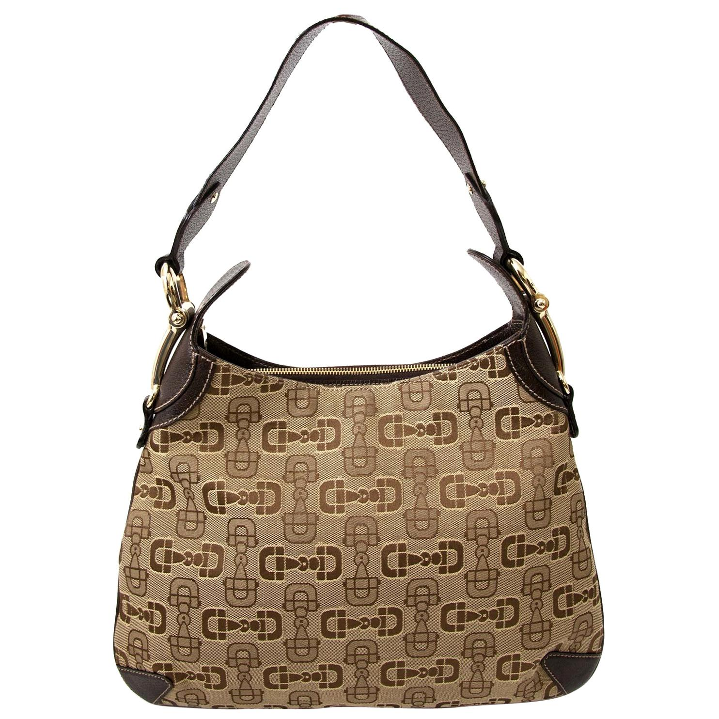 Gucci Horsebit Print Bag