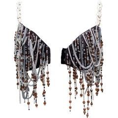 Dolce & Gabbana gorgeous jewel bra, 1991 Spring-Summer Runway Show