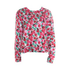 Marc Jacobs Multicolor Floral Print Sweatshirt M