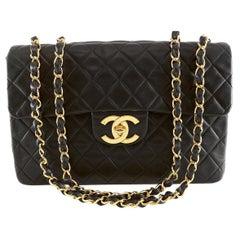 Chanel Black Vintage Medium Classic Flap Bag