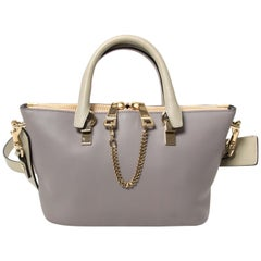 Chloé Mini Grey Baylee Bag