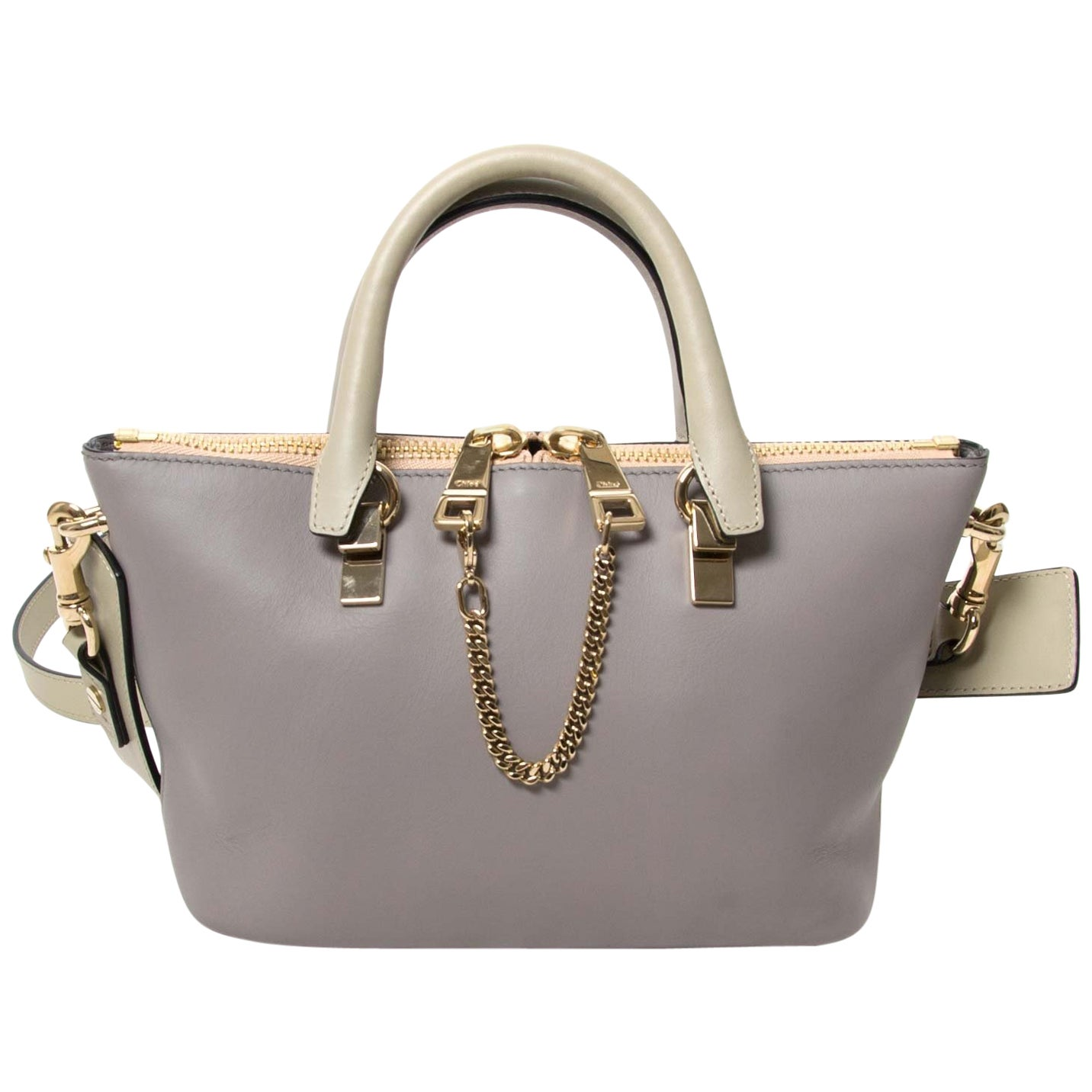 Chloé Mini Grey Baylee Bag