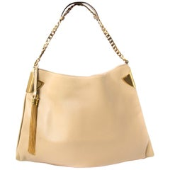 Gucci Beige Leather 1970 Handbag