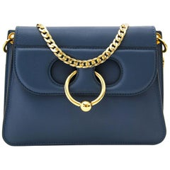 JW Anderson Mini Pierce Bag Storm Blue