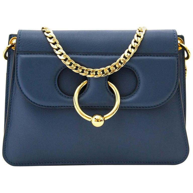 JW Anderson Mini Pierce Bag Storm Blue For Sale