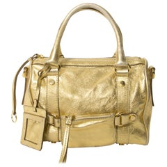 Dolce & Gabbana Gold Metallic Speedy Bag