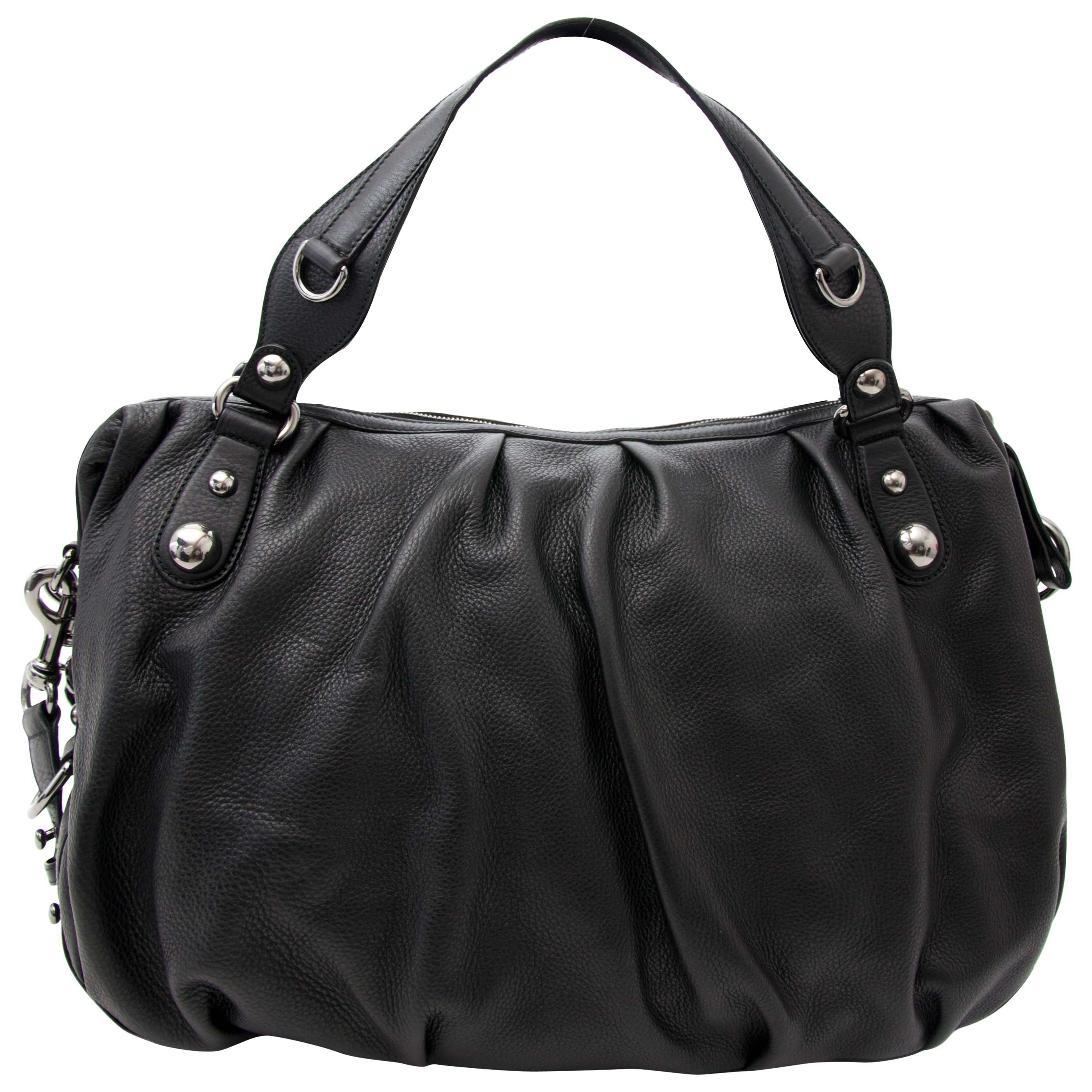 Gucci Black Icon Bit Boston Shoulder Bag