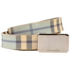Burberry Light Blue Belt - Size 90