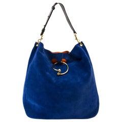 JW Anderson Large Hobo Piercing Bag Royal Blue