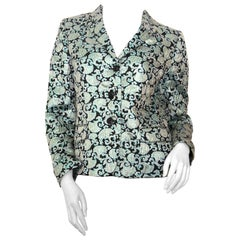 Dries Van Noten Metallic Versailles Design Jacket