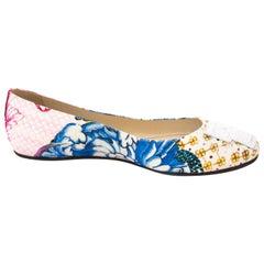Roberto Cavalli Multicolor Flats - size 37